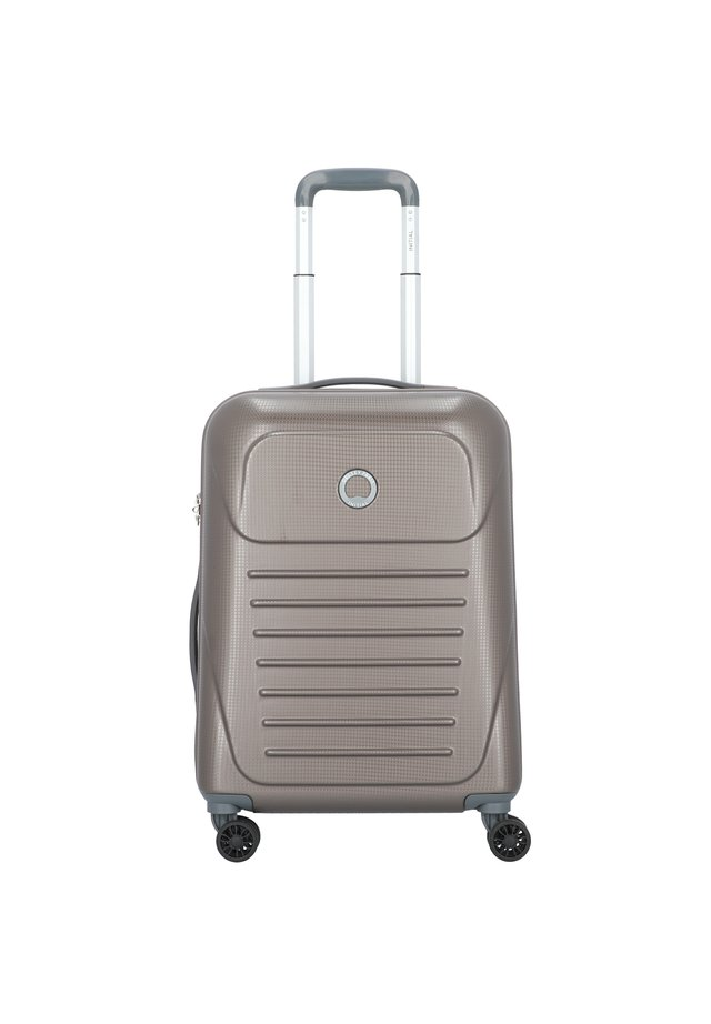 DELSEY MUNIA 4-ROLLEN KABINENTROLLEY 55 CM - Wheeled suitcase - haselnuss