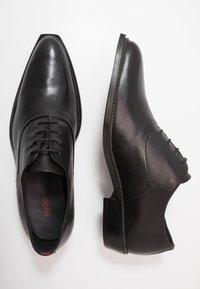 HUGO - PRESTIGE - Stringate eleganti - black - 1
