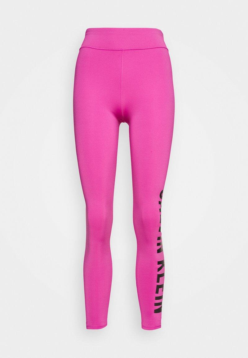 Calvin Klein Performance - FULL LENGTH  - Punčochy - pink