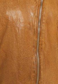 Gipsy - Leather jacket - camel - 7