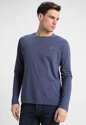 THE ORIGINAL - Long sleeved top - dark jeansblue melange