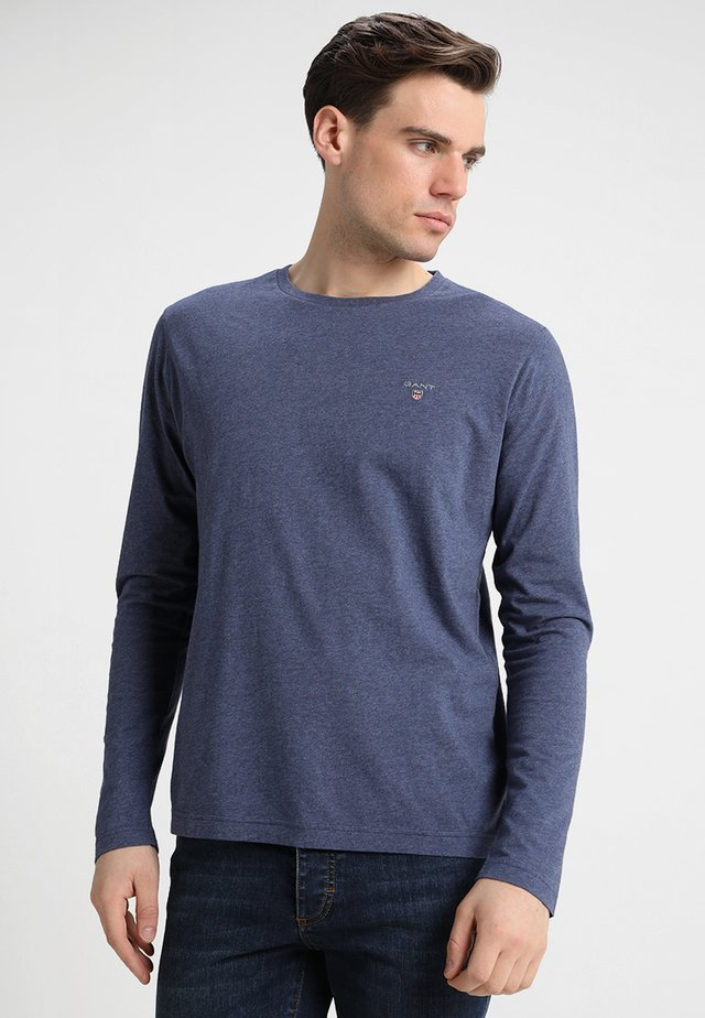 THE ORIGINAL - Long sleeved top - dark jeansblue melange