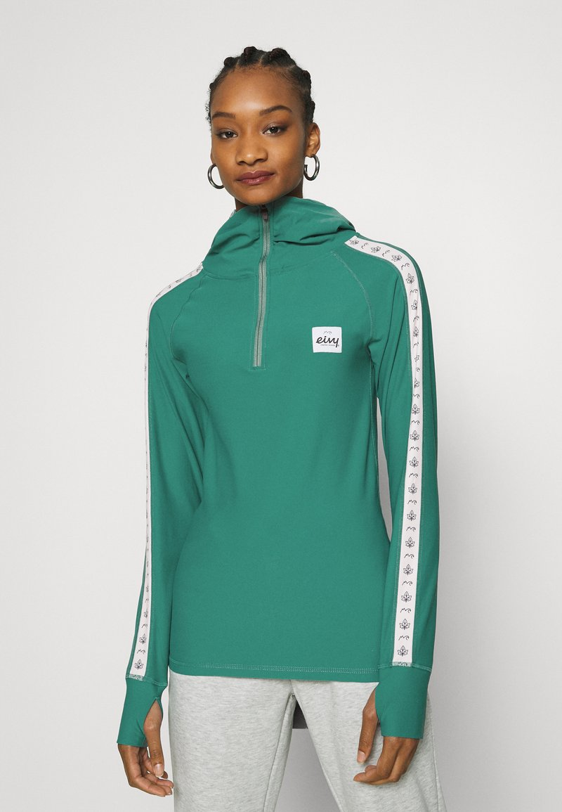 Eivy - ICECOLD ZIP HOOD - Long sleeved top - green