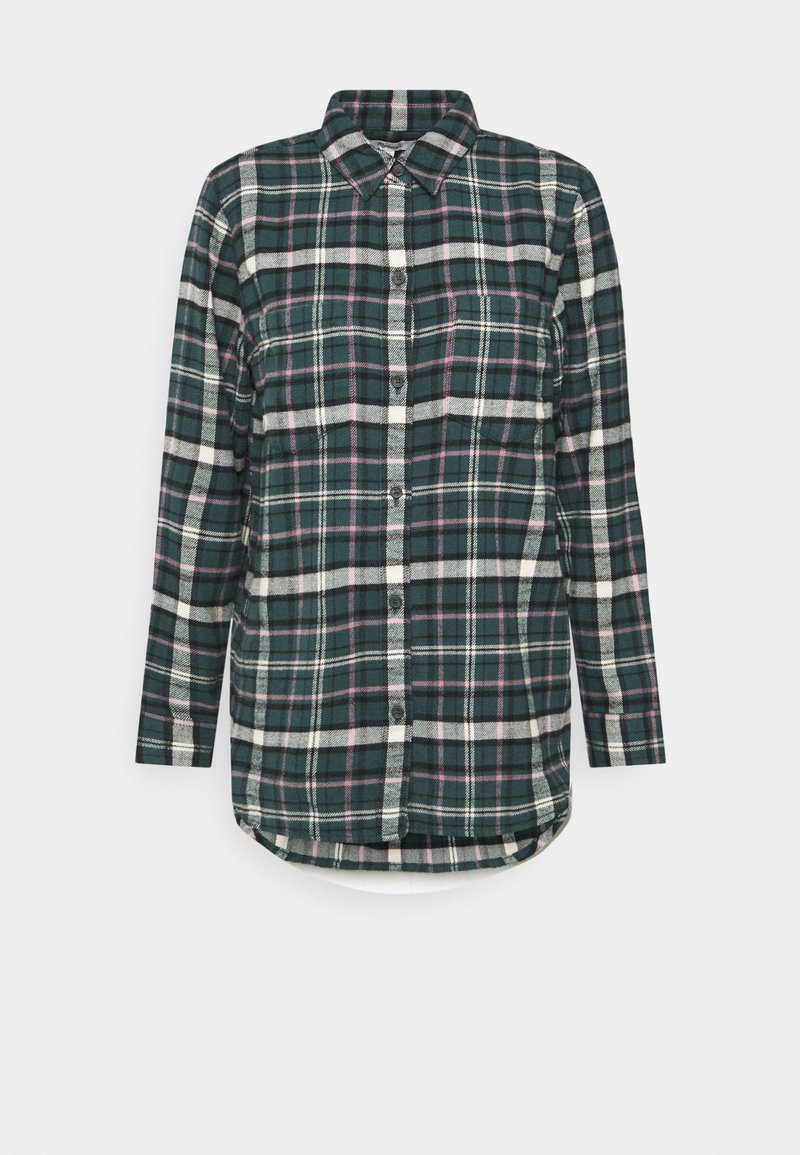 Madewell - IN PLAID - Button-down blouse - green lane