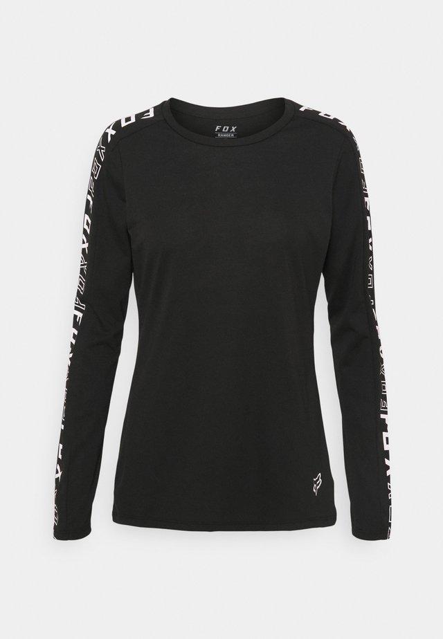 RANGER - Pitkähihainen paita - black