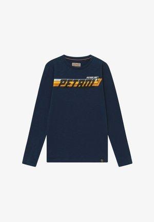 Langarmshirt - petrol blue