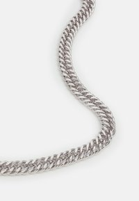 Topman - WIDE FLAT CHAIN NECKLACE - Halsband - silver-coloured - 2