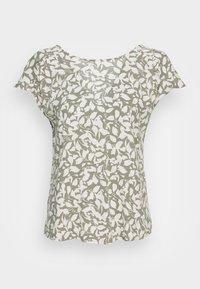 s.Oliver - Print T-shirt - summer khaki - 3