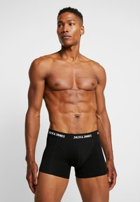 Jack & Jones - JACANTHONY TRUNKS 3 PACK  - Underkläder - black - 0