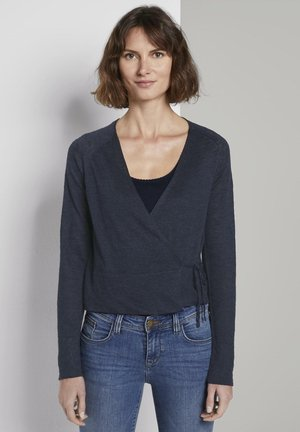 WICKELN - Cardigan - sky captain blue