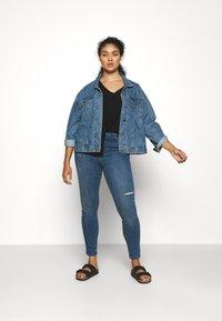 Vero Moda Curve - VMSOPHIA SCULPT - Jeans Skinny Fit - dark blue denim - 1