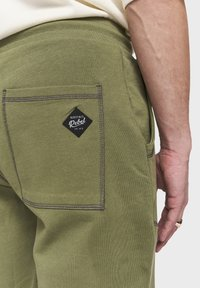 Redefined Rebel - DIEGO - Tracksuit bottoms - loden green - 3