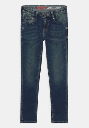 AMOS - Jeans Skinny Fit - dark-blue denim