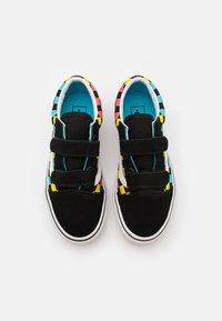 Vans - OLD SKOOL UNISEX - Trainers - black/multicolor - 3