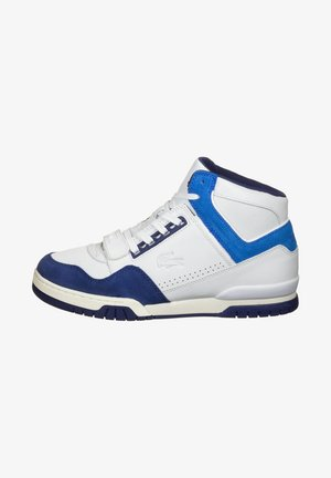High-top trainers - white/blue