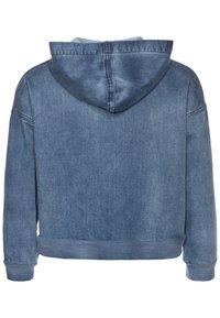 Blue Effect - GIRLS HOODIE - Denim jacket - medium blue - 1