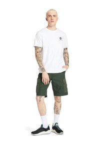 Timberland - ARCHIVE BACK WWES - Basic T-shirt - white - 1