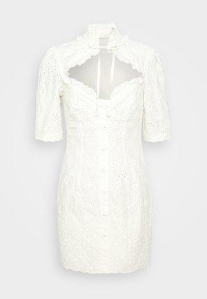 FINDING ANGELS MINI DRESS - Day dress - crème