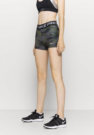 SHORT CAMO - Tights - thunder grey/black/white