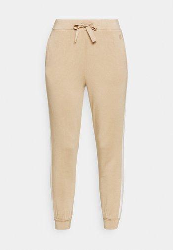 DOMINO - Pantalon de survêtement - honey
