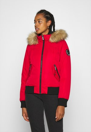 Winter jacket - burnt red