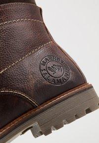 Salamander - HARROLD - Lace-up ankle boots - cognac - 5