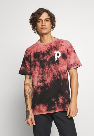 SHATTERED TEE WASH - Triko s potiskem - black