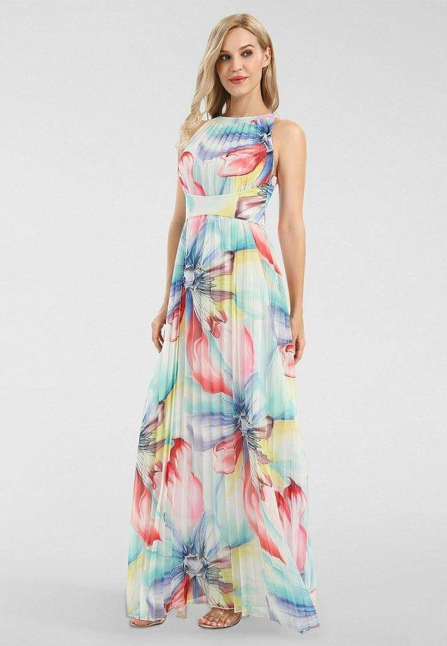 Robe longue - mint-multicolor