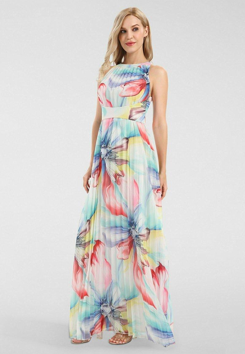Apart - Robe longue - mint-multicolor