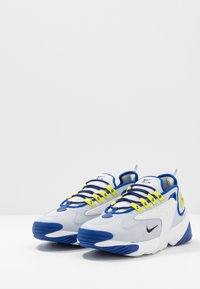 Nike Sportswear - ZOOM  - Sneakers - sky grey/black/bright cactus/hyper blue/white - 2