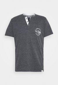 COLORFUL NEP HENLEY - T-shirt med print - tarmac grey