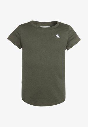 CORE CREW - Camiseta básica - olive