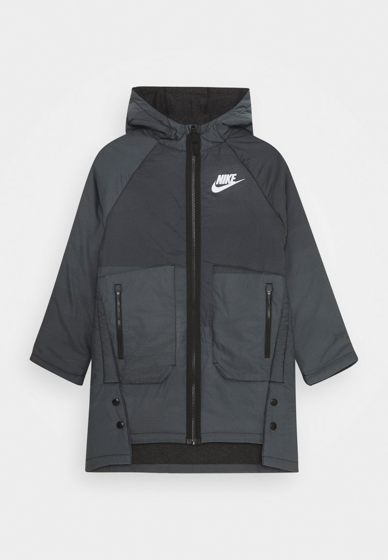 Nike Sportswear - REVERSIBLE - Winter coat - black/white