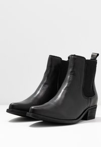Bianco - BIACOCO CHELSEA WESTERN - Classic ankle boots - black - 4