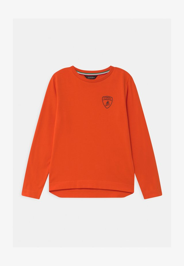 SOLID COLOR - Longsleeve - orange xanto