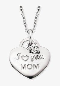 Engelsrufer - ENGELSRUFER DAMEN-KETTE KETTE LOVE MOM MIT ZIRKONIA 925ER SILBER - Necklace - silver - 1