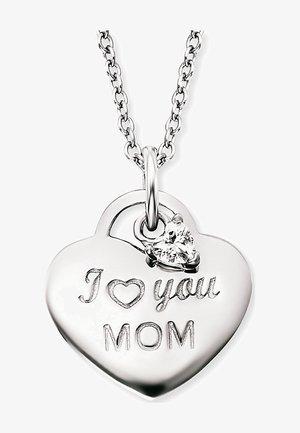ENGELSRUFER DAMEN-KETTE KETTE LOVE MOM MIT ZIRKONIA 925ER SILBER - Necklace - silver