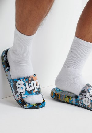PRINTED  - Pool shoes - splatter camo