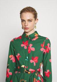 IVY & OAK - VALANCE DRESS MIDI - Korte jurk -  secret garden green - 4