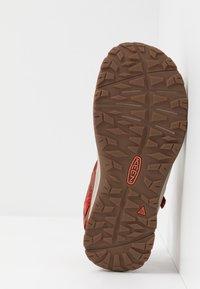 Keen - TERRADORA II  - Walking sandals - dark red/coral - 4