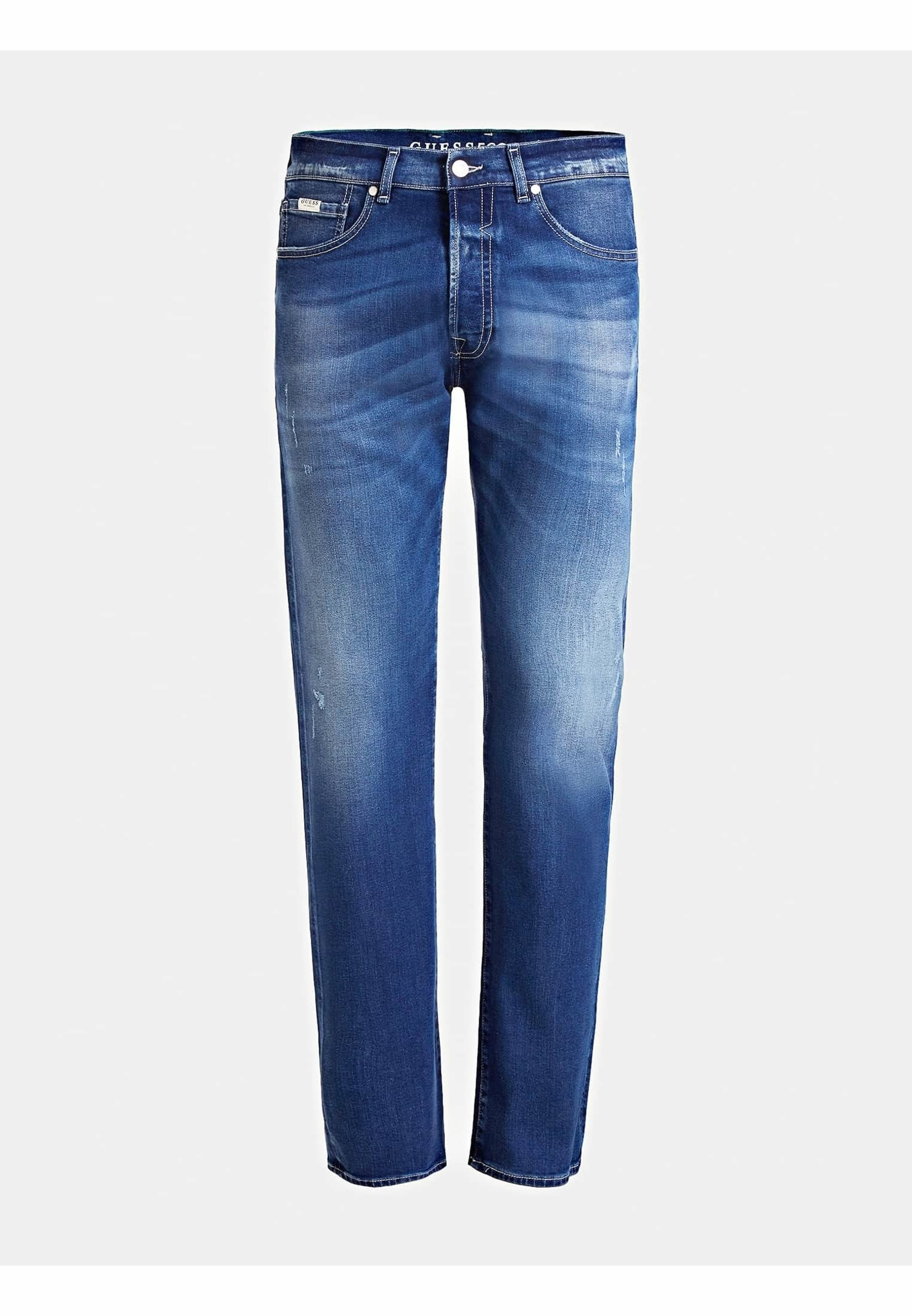 Guess SLIM FIT - Jean slim - blau