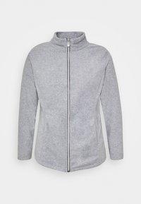 CAPSULE by Simply Be - Fleece jacket - grey marl - 4