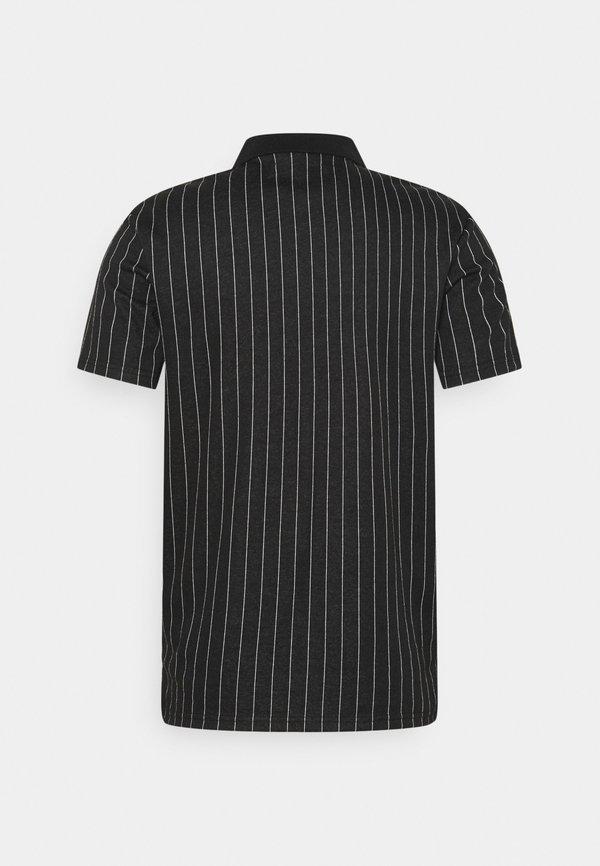 Zign Koszulka polo - black/czarny Odzież Męska YEAK