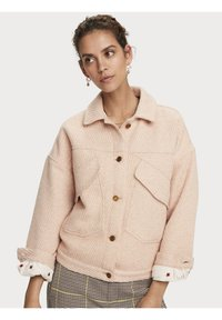 Scotch & Soda - Winterjas - light apricot melange - 4