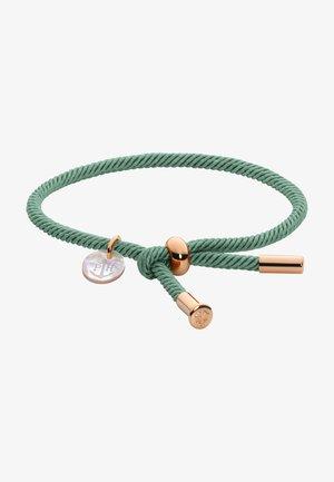 Armband - teal/roségold