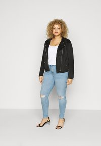 Dr.Denim Plus - LEXY - Jeans Skinny Fit - icicle blue ripped - 1