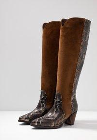Maripé - Cowboy/Biker boots - patagunia rovere/bruciato - 4