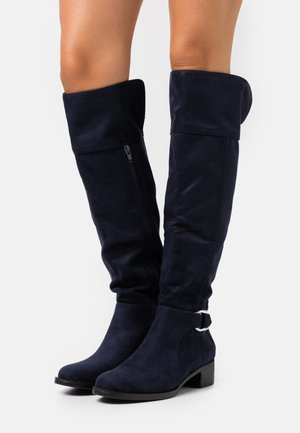 HAMLET - Over-the-knee boots - navy