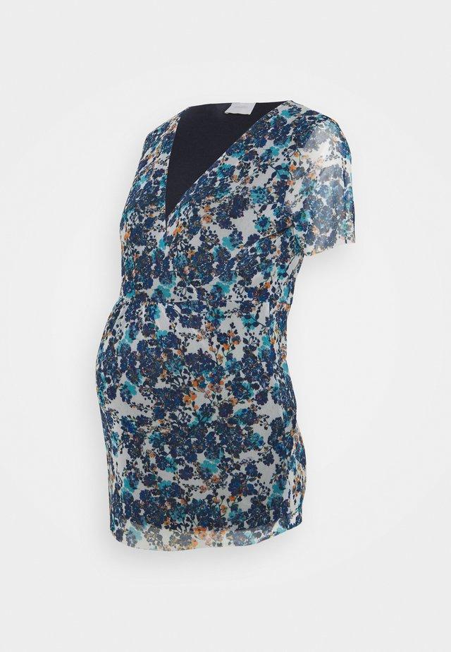 MLFLOWER - T-shirt con stampa - blue flower