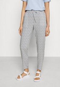 Vero Moda - Trousers - navy blazer/asta - 0